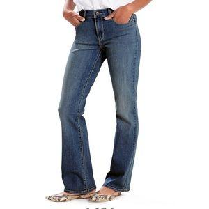 Women's Plus Size LEVI'S Classic Boot Cut Jeans